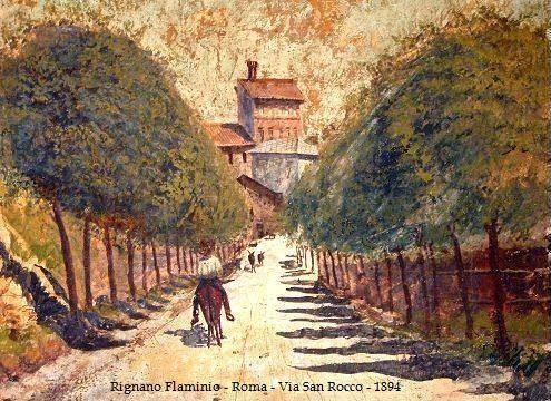 Rignano - Via San Rocco 1894_